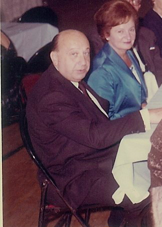Dr. Tuch at my bar mitzvah in 1963.